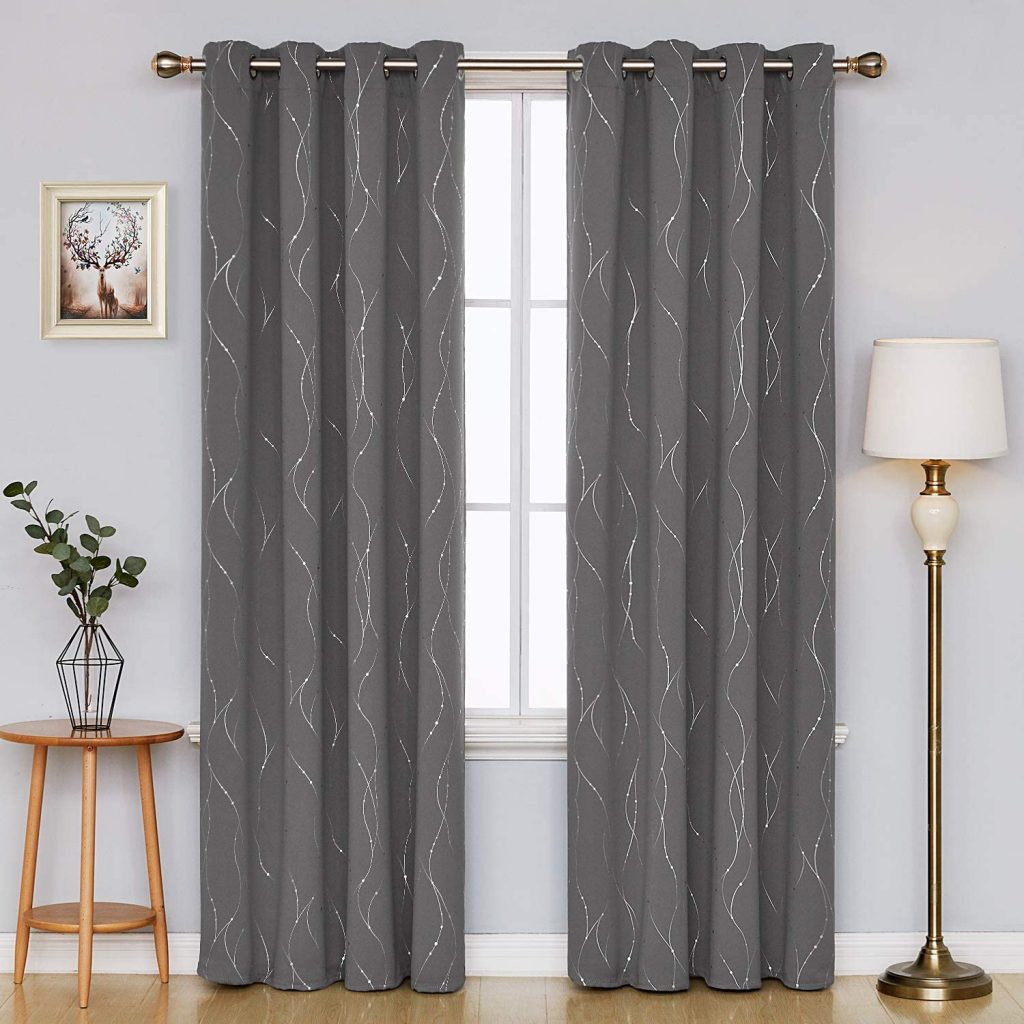 Deconovo Blackout Curtains-Blackout Curtains for Bedroom