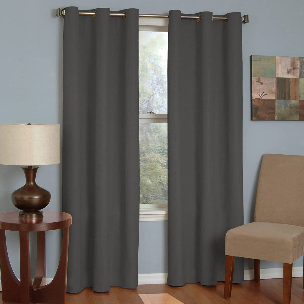 ECLIPSE Microfiber Thermal Insulated Single Panel Rod