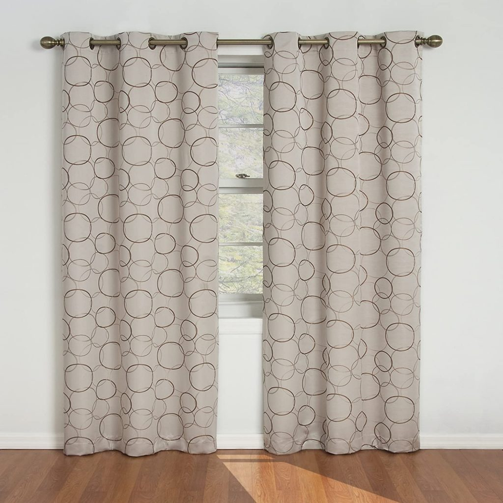 Eclipse Blackout Curtains for Bedroom - Meridian