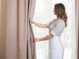 How to wash curtains