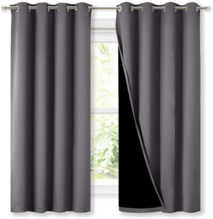 NICETOWN Blackout Curtains Panels for Bedroom