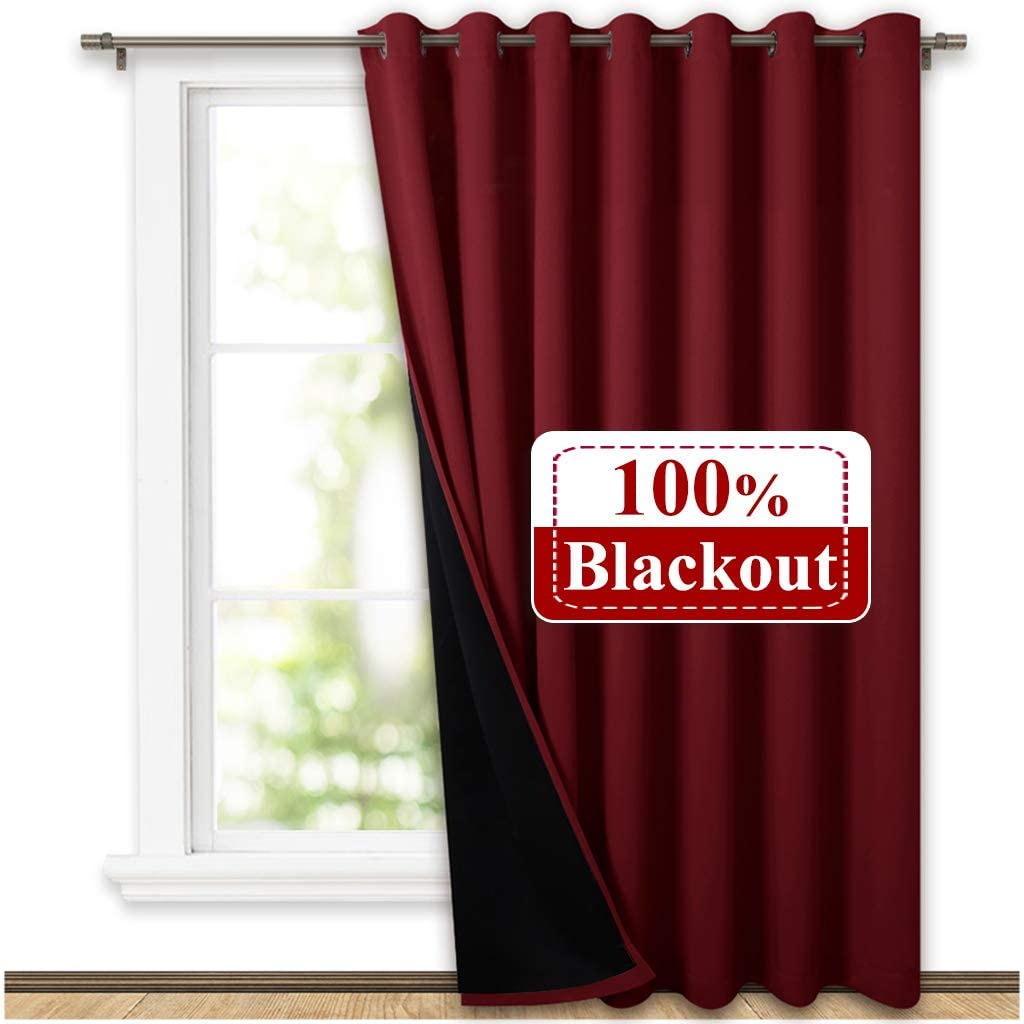 NICETOWN Thermal Insulated 100% Blackout Drape