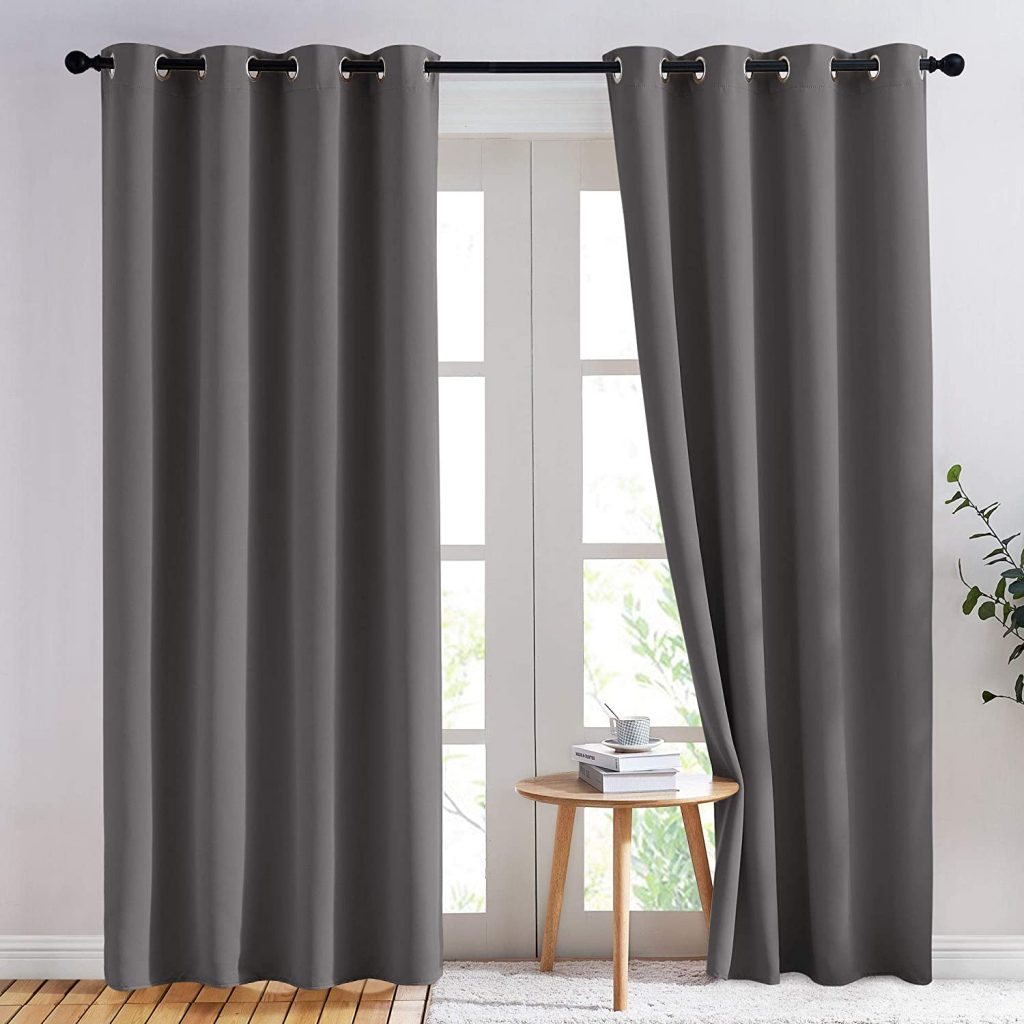 Nicetown Blackout Curtain Panels
