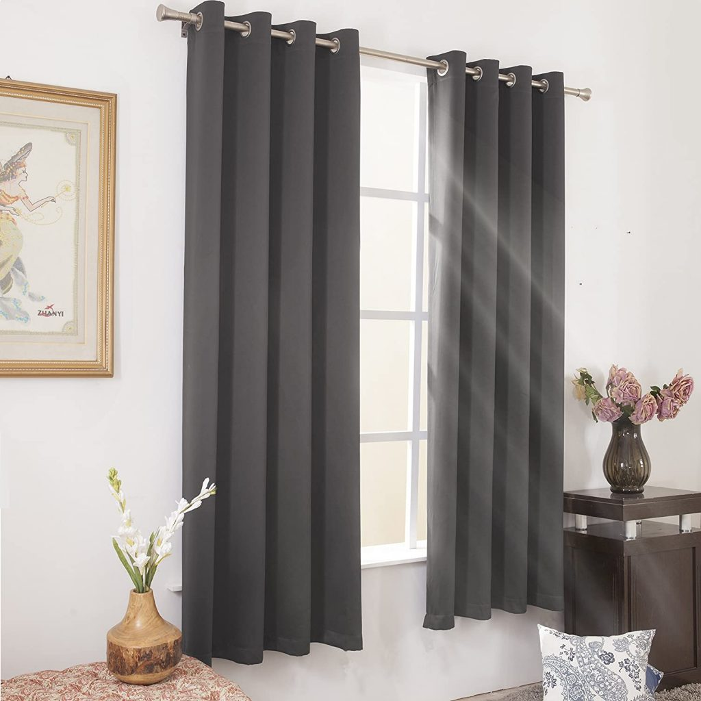 WONTEX Blackout Curtains - Blackout Curtains for Bedroom